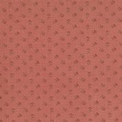 Moda French General Favorites - Bolt 6160  - Red Floral on Coral - Moda No. 13526 22 - Cotton Fabric